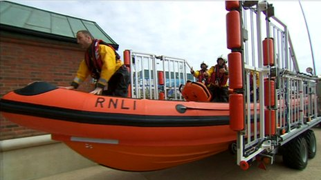 Blackpool's new lifeboat