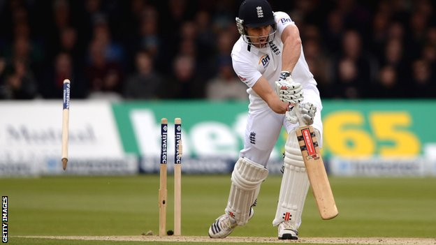 Nick Compton struggled for form in the home Tests against New Zealand in May