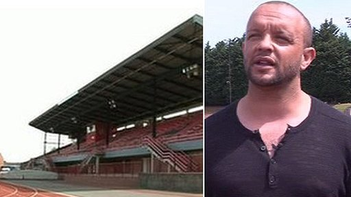 Cwmbran stadium and Jamie Baulch