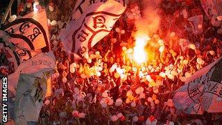 Vasco da Gama fans