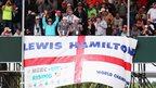 British Grand Prix Lewis Hamilton fans