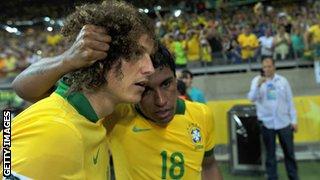 David Luiz and Paulinho