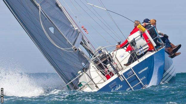 Carey Olsen Inter-Island Yacht Race