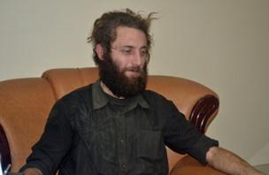Pierre Borghi shortly after his escape