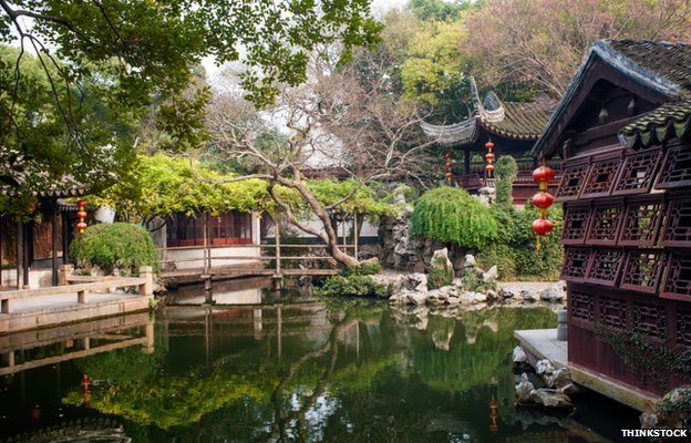 The Classical Gardens of Suzhou, China
