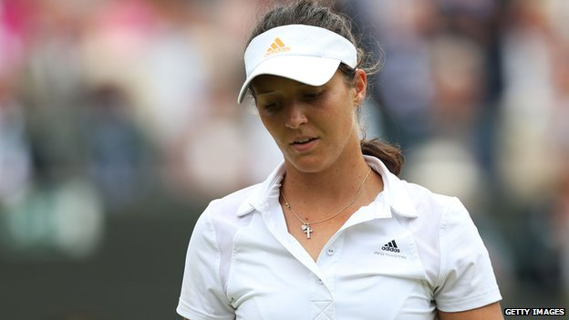 Laura Robson at Wimbledon