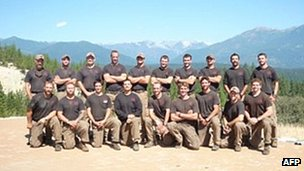 Prescott Granite Mountain hotshot crew