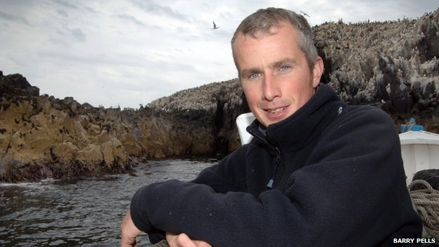 Farne Islands head ranger David Steel