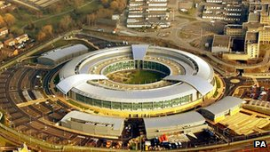 Aerial view of GCHQ headquarters
