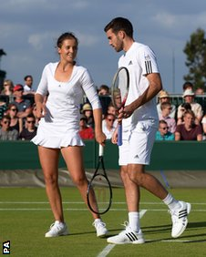Laura Robson and Colin fleming