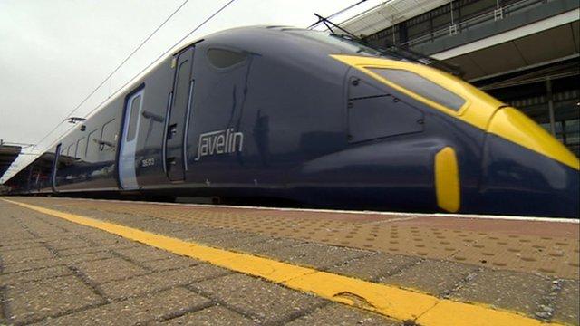The Javelin train