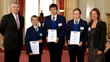 Pupils from the Archbishop Sentamu School in Hull