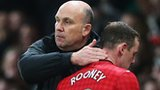 Mike Phelan and Wayne Rooney
