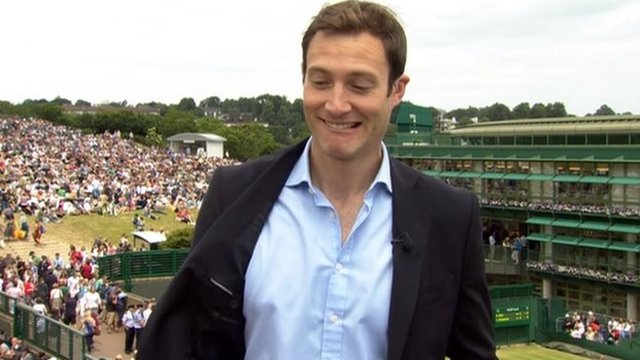 BBC Sport reporter John Watson