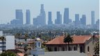 Heat haze over Los Angeles, California (28 June 2013)