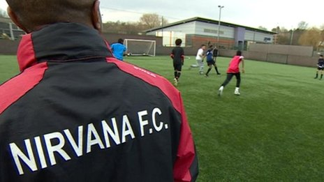 Nirvana FC training