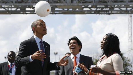 Barack Obama (2 July 2013)