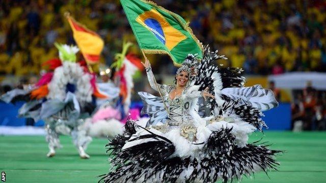 Brazil closing ceremony