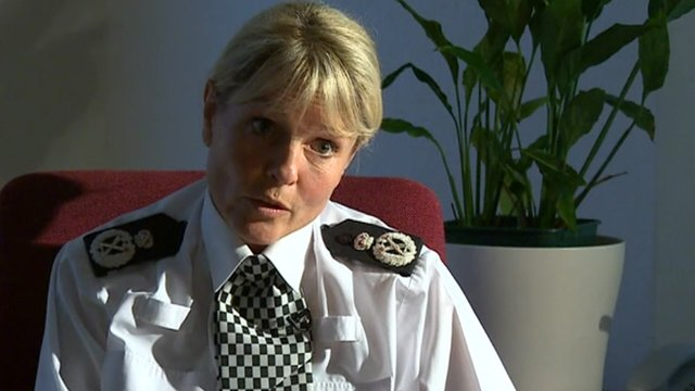 Bedfordshire Chief Constable Colette Paul
