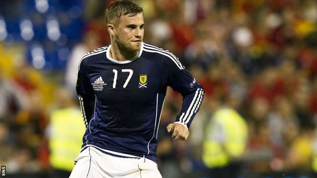 Scotland striker David Goodwillie