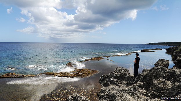 Tonga's blow holes and rock pools