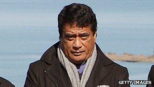 Tonga's Prime Minister Lord Tu'ivakano