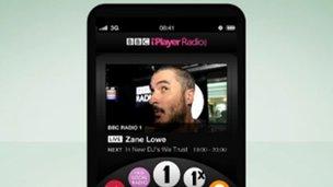 iPlayer Radio app