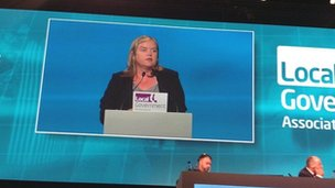 Louise Casey at the LGA conference