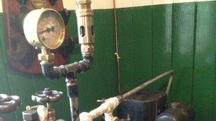 Twyford Waterworks engine