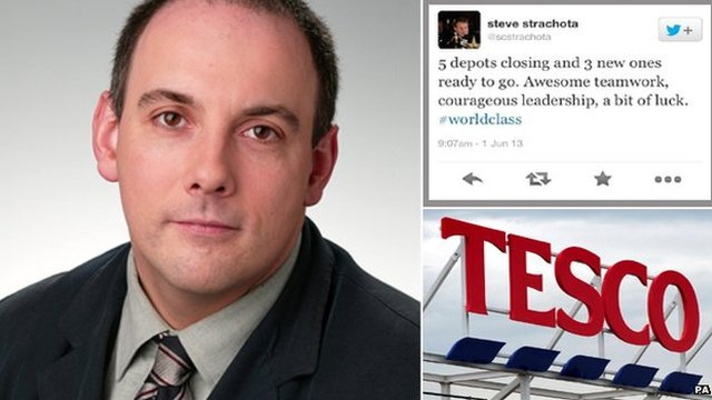 Robert Halfon and the Tesco director's tweet