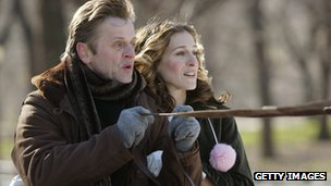 Mikhail Baryshnikov and Sarah Jessica Parker in Sex and the City