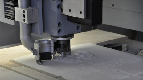 An engraving machine