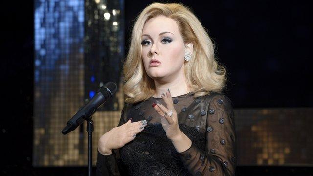Adele waxwork
