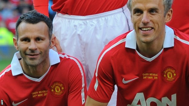 Manchester United: Ryan Giggs and Phil Neville