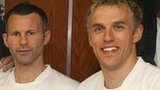 Ryan Giggs and Phil Neville