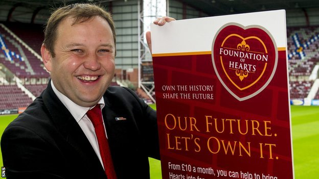 Foundation of Hearts chairman Ian Murray MP