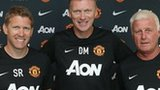 David Moyes (centre)
