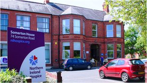 Northern Ireland Hospice building in north Belfast