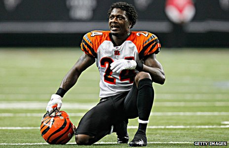 "Cincinatti Bengals corner back Adam ""Pacman"" Jones"
