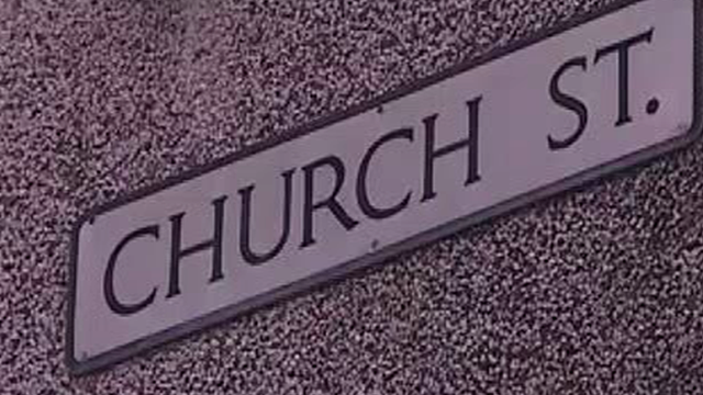 Church Street road sign