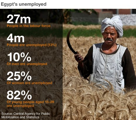 Egyptian unemployment
