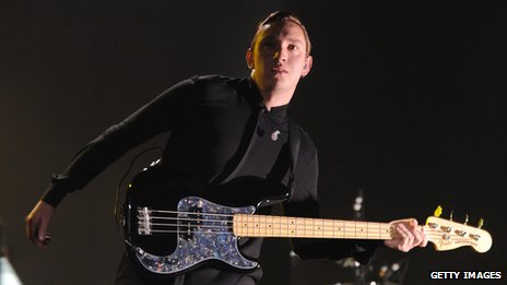 The xx on stage
