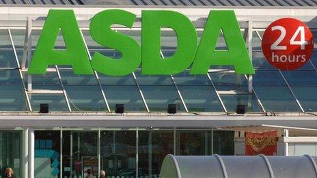 Asda shop front