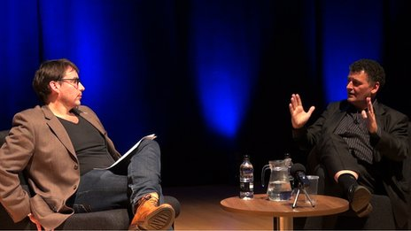 Steven Moffat is interviewed by Toby Whithouse