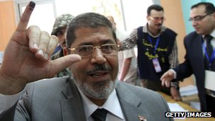 Mohammed Morsi (23 May 2012)