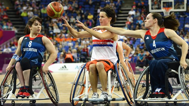 Great Britain women's wheelchair basketball