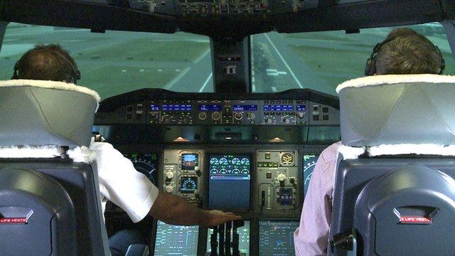 A380 simulator