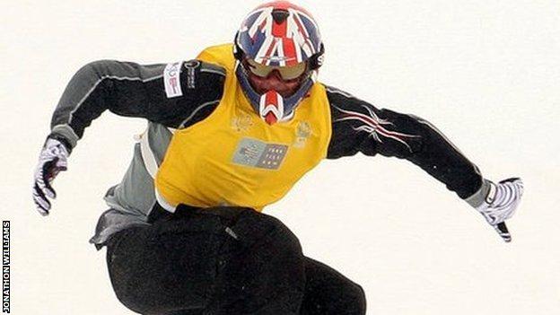 Jamie Barrow in action