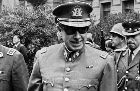 Chilean military junta, Gen Augusto Pinochet in 1973