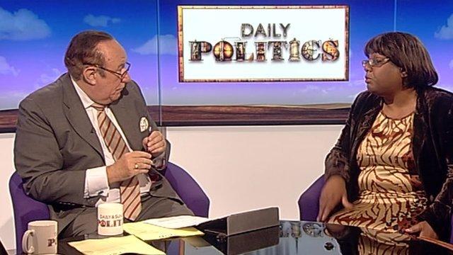 Andrew Neil and Diane Abbott